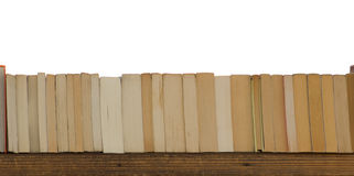Books on a wooden board Royalty Free Stock Photography