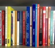 Books written in portuguese Stock Image