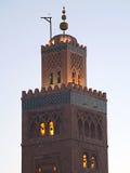 Bookseller's Mosque Minaret. The Koutoubia (Bookseller's Mosque) in Marrakesh, Morocco stock photos