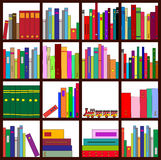 Bookshelf Royalty Free Stock Image