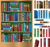 Bookshelf Royalty Free Stock Photography