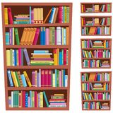 Bookshelf Royalty Free Stock Photos