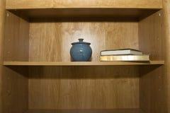 Bookshelf Stock Image