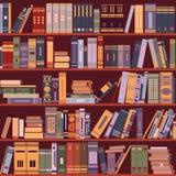 Bookshelf, books, library, vector Stock Photos