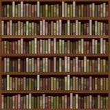 Bookshelf generated hires texture Stock Image