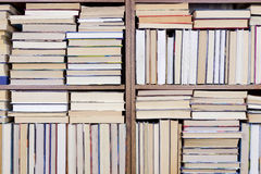 Bookshelf home Stock Photo