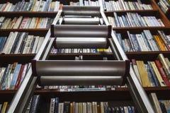 The bookshelf of knowledge Stock Photo