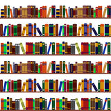 Bookshelf pattern Royalty Free Stock Images