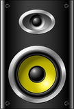 Bookshelf speaker Royalty Free Stock Photo