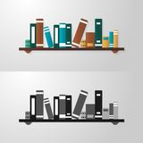 Bookshelf Royalty Free Stock Images