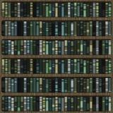 Bookshelf. Wooden bookshelf with books for interior decoration Stock Photography