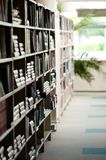Bookshelves Royalty Free Stock Photos
