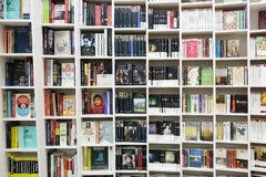 bookshelves Fotografia Stock