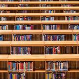 Bookshelves Royalty Free Stock Image