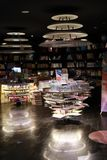 Bookshop interior in china , bookstore interior royalty free stock images