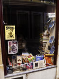 Bookshop window display Royalty Free Stock Photo
