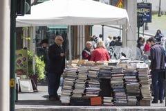 Bookstand Royaltyfri Fotografi