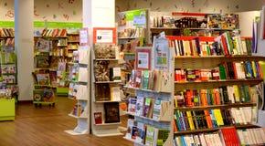 Bookstore в Италии Стоковые Фотографии RF