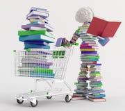 В Bookstore Стоковые Изображения