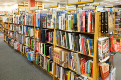 Bookstore Aisle: Art Books Royalty Free Stock Photo