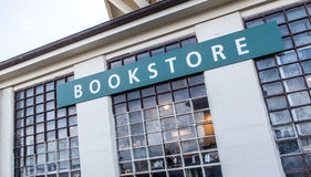 Bookstore at Alcatraz Island Stock Photo