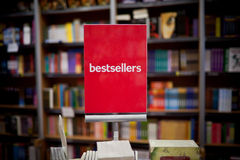 Bookstore Bestsellery Obrazy Royalty Free