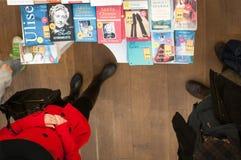 Bookstore buyers Stock Image