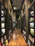 Bookstore in China. Eslite bookstore in Suzhou, eastern China. Photo taken in Nov. 2017 stock images