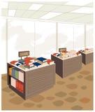 Bookstore interior Stock Image