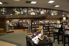 Bookstore. A nice Barnes and Noble bookstore in Downtown Seattle Royalty Free Stock Images