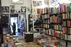 Bookstore in Rome Stock Photos