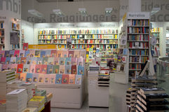 Bookstore in Rome Royalty Free Stock Photo