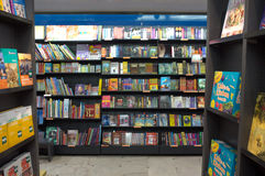 Bookstore in Rome Stock Photography