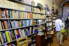 Bookstore in Rome Stock Image