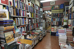 Bookstore in Rome Royalty Free Stock Images