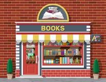 Free Bookstore Shop Exterior. Books Shop Brick Building Stock Photography - 159900632