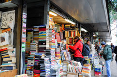 Bookstore and souvenir in Rome Royalty Free Stock Photo
