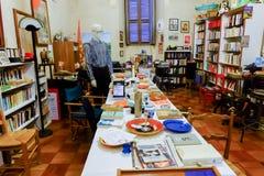 Bookstore w Rzym zdjęcia royalty free