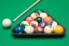 Bool Billiard Equipment Stock Photography