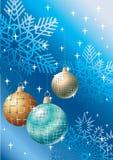 Bools decorativos. La Navidad. Fotografía de archivo libre de regalías