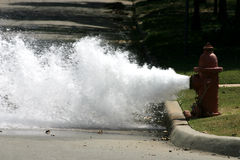 Boom. A photograph taken of a fire hydrant royalty free stock photos