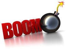 Boom Stock Foto