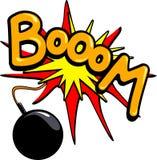 Boom! Royalty-vrije Stock Foto's