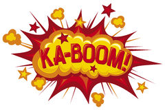 Boom stock illustration