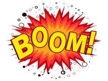 Boom! Lizenzfreies Stockfoto