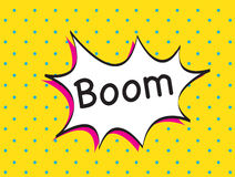 Boom background Stock Photo