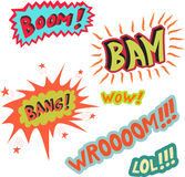 Boom bang Royalty Free Stock Photography