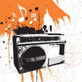 Boom box Royalty Free Stock Image