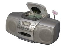 Boom Box Blooming Music Stock Images