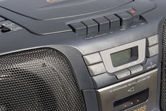 Boom Box Closeup Stock Images